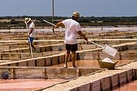 Flor de Sal del Trenc, visita guiada,Salobrar de Campos, Campos del Puerto,Mallorca, balearic islands, spain, europe.