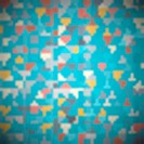 Abstract Retro Textile Triangle Background