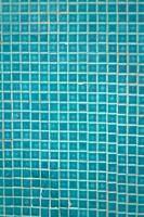 blue tile mosaics background texture