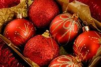 boxed christmas balls