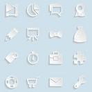 Paper Seo Icons Vol 2