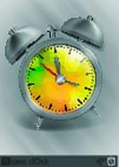 Metal Classic Style Alarm Clock.
