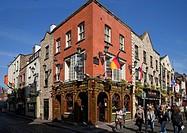 The Quys, Tiled Victorian Pub, Temple Bar, Dublin City, Ireland.