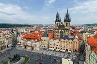 Old Town Square Prague.
