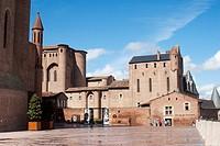 Toulouse Lautrec Museum, Albi,Tarn, Midi_Pyrénees, France.