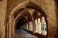 Cloister of Vallbona de les Monges cistercian femenine monastery