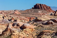 Valley of Fire, Nevada. Road to White Domes.
