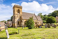St Barnabas Church at Snowshill, Cotswolds, Gloucestershire, England, United Kingdom, Europe.
