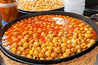 -Traditional Olives- Markets places in Alicante (Spain).