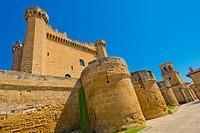 Palace-Castle of Sajazarra, S. XV, Sajazarra, La Rioja, Spain, Europe.