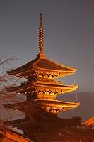 Japan; Kyoto, Higashiyama, Yasaka Pagoda,.