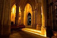 """Interior de la catedral de Santa María y San Julián - Cuenca â. """" Castilla La Mancha â. """" España - Europa."""