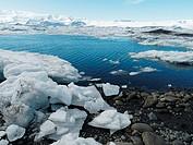 Jökulsárlón Lagoon, Vatnajökull Glacier