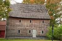 Arnold House (1693), Gateway Park, Lincoln, Rhode Island.