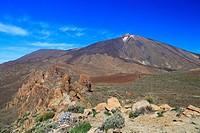 Teide National Park, Tenerife, Canary Islands, Spain.