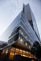 The Goldman Sachs global headquarters in New York City at 200 West St. Designed by Henry Cobb of Pei Cobb Freed & Partners. Goldman represents the lar...
