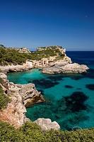 Cala s´Almunia, Santanyi, Majorca, Balearic Islands, Spain