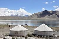 China, Xinjiang, Pamir region.