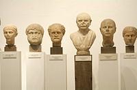Roman citizens. Archaeological Museum. Seville, Spain