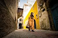 Morocco, Essaouira, Medina.