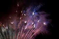 Fireworks, Sabadell, Catalonia, Spain