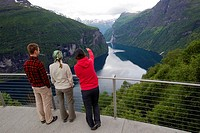 Viewpoint, Aurlandsfjellet National Tourist Route, Norway, Scandinavian.