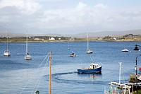 Roundhouse Harbour and Port, Connemara; Galway; Ireland.