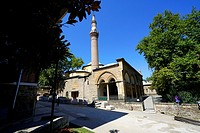 Gazi Orhan Mosque (1339) early Ottoman style by architect Orhan Bey. Bursa. Turkey