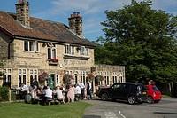 Crown Pub, Hutton le Hole, North York Moors, Yorkshire, England, UK.