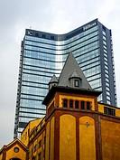 Hilton hotel building in Istanbul, Turkey.