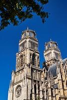 France, Loiret, Orleans, Sainte-Croix cathedral.