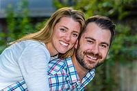 Young millenial couple, Littleton, Colorado USA.