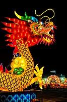 Lantern Light Festival. Miami. Florida. USA.