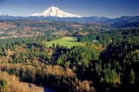 Mt Hood, Jonsrud Viewpoint Park, Sandy, Oregon.