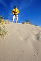 Beach dune at Heceta Beach, Harbor Vista County Park, Florence, Oregon.