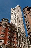 Tall buildings, La Coruña, Region of Galicia, Spain, Europe.
