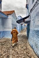 Medina, old town, Chefchaouen, Chaouen, Morocco.