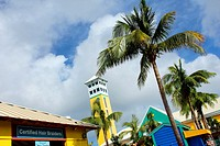 Partial view of Bahamas cruise port