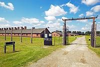 The Auschwitz II-Birkenau concentration camp, Oswiecim, Poland, Europe.