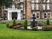 The Cedar Court Hotel Former Queen Hotel and Oldest Hotel in Harrogate North Yorkshire England.
