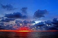 Sunset, Barú Island, Colombia