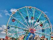 Brooklyn, NY, Coney Island, Wonder Wheel Ferris Wheel