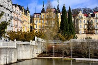 Spa resort Marianske Lazne - Marienbad, West Bohemia, Czech Republic, Europe