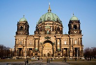 Berlin Cathedral (Berliner Dom), Berlin, Germany.