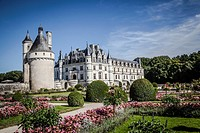 Chenonceau Castle in Loire Valley.