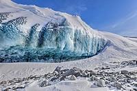 Ice Cap, Point 660, Kangerlussuaq, Artic Circle, Greenland, Europe.