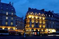 Boulevard Saint Michel. Paris. France. Europe.