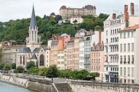 Cityscape in Heidelberg Germany on May 11, 2016. Neckar river