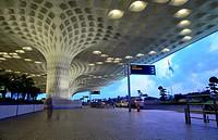 """International airport """"""""Chhatrapati Shivaji"""""""" of Mumbai, Maharastra, India."""