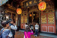 Taiwan, Taipei City, Bao´an temple